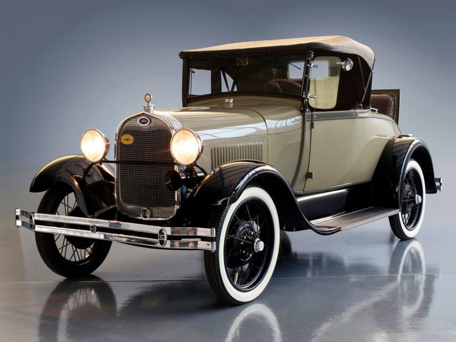 1927 Ford Model-A Roadster retro  g wallpaper