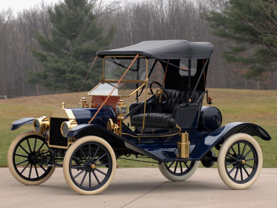 1911 Ford Model-T Torpedo Runabout retro      h wallpaper