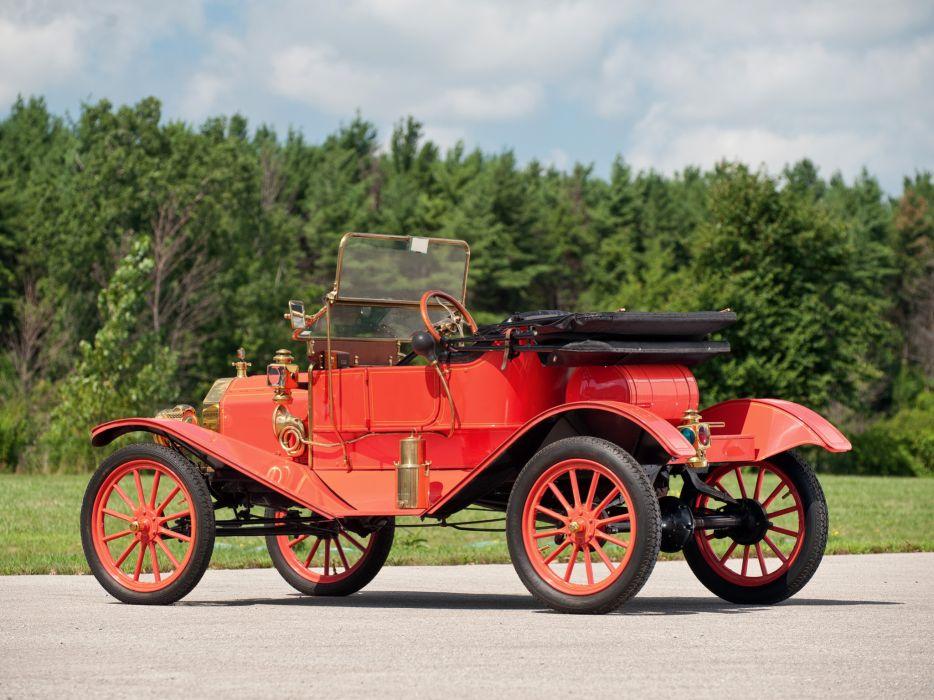 1911 Ford Model-T Torpedo Runabout retro wallpaper