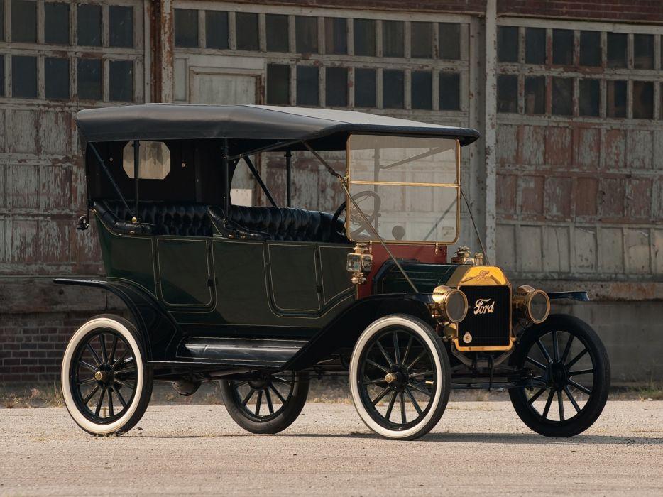 1912 Ford Model-T Touring retro wallpaper