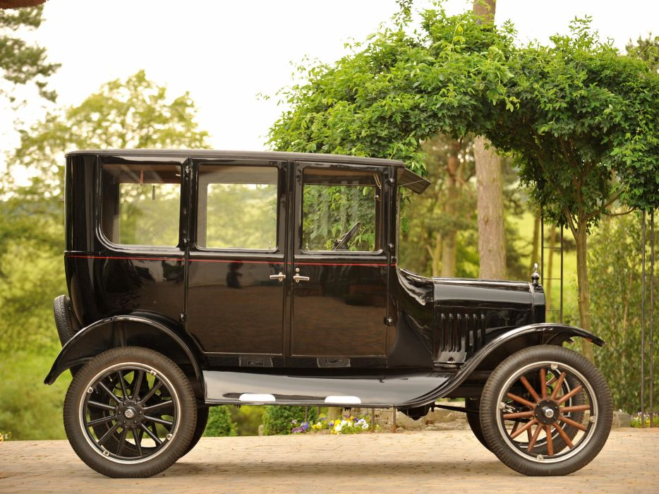 1923 Ford Model-T Fordor Sedan retro   h wallpaper
