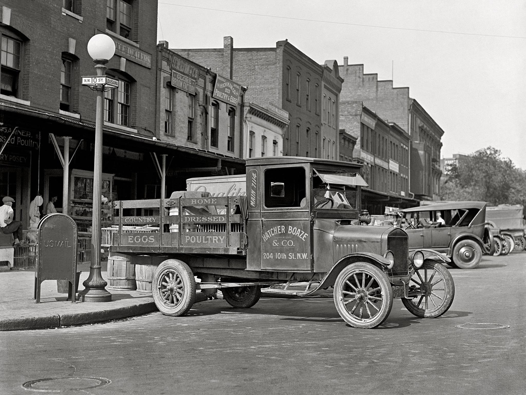 1926 Ford Model Tt Flatbed Truck Retro Wallpaper