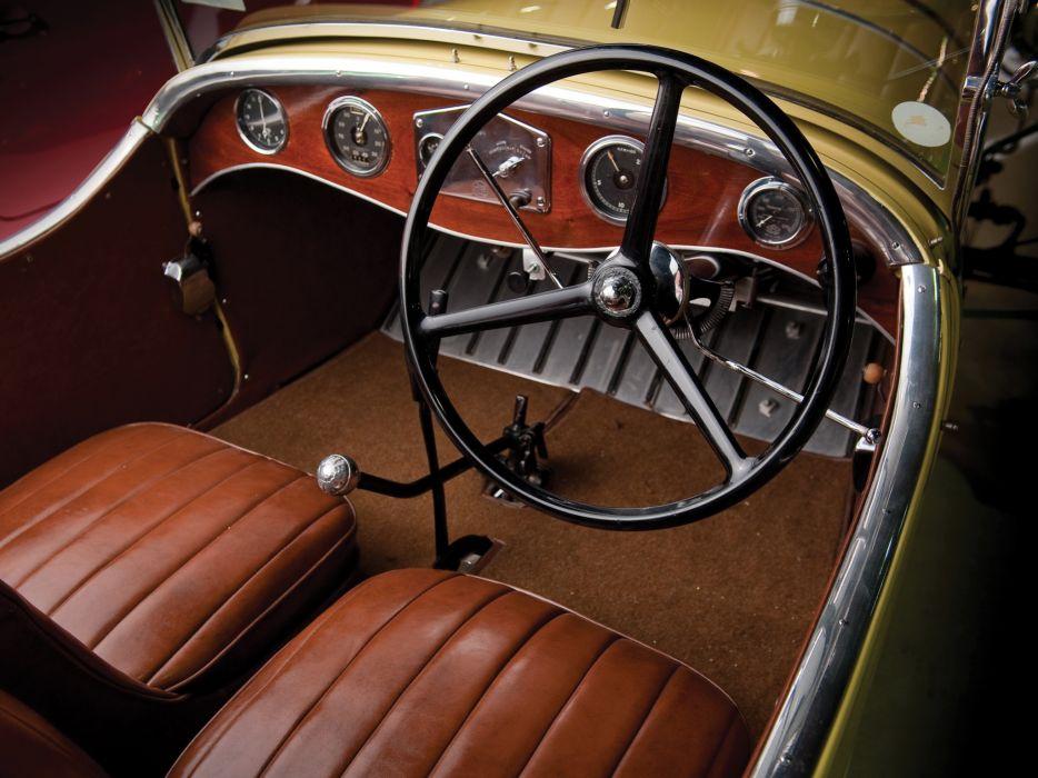 1929 Ford Model-T Frontenac Speedster retro interior g ...