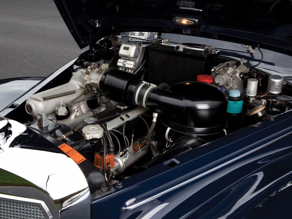 1951 Mercedes Benz 300-S Cabriolet A W188 retro luxury engine wallpaper