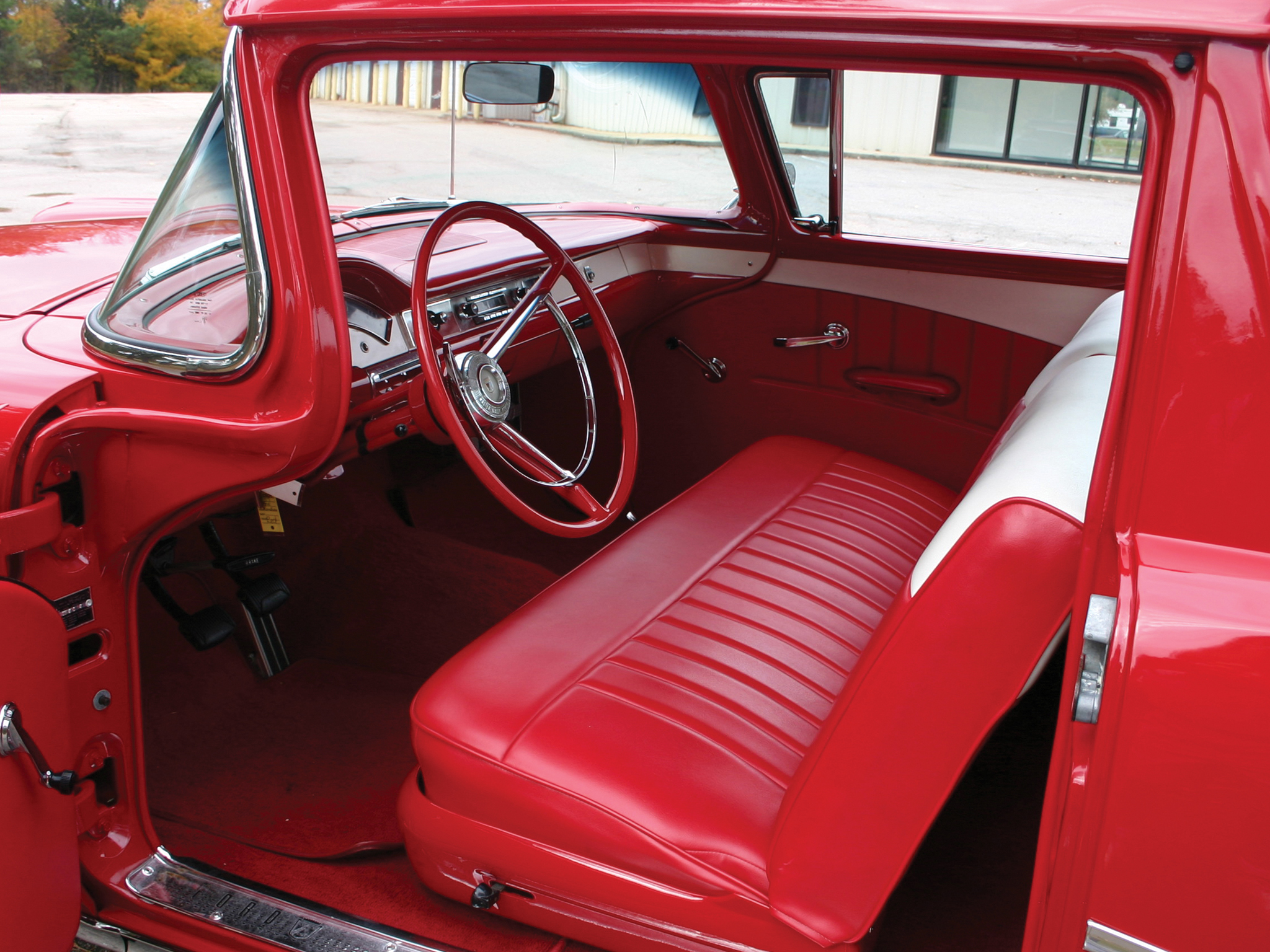 1957 ford ranchero custom pickup retro interior g wallpaper 2048x1536 142325 wallpaperup