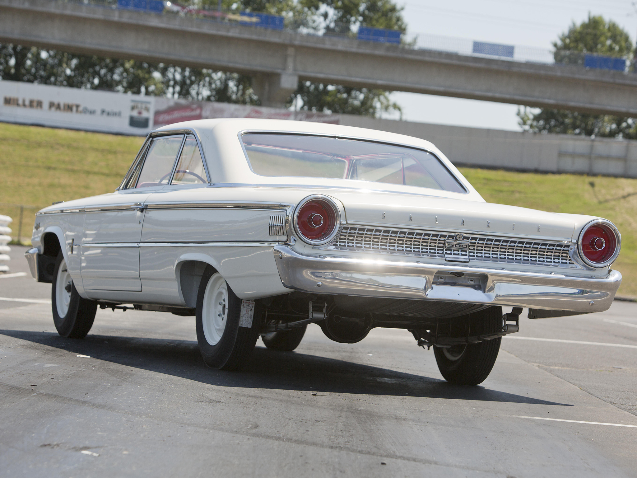 Ford Muscle Cars >> 1963 Ford Galaxie 500 Factory Lightweight drag racing race ...
