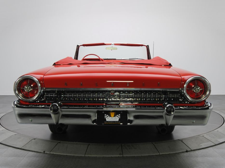 1963 Ford Galaxie 500 Sunliner 6-5 convertible classic wallpaper