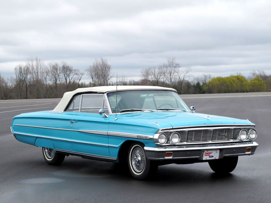 1964 ford galaxie 500 convertible classic g wallpaper 2048x1536 142415 wallpaperup. Black Bedroom Furniture Sets. Home Design Ideas