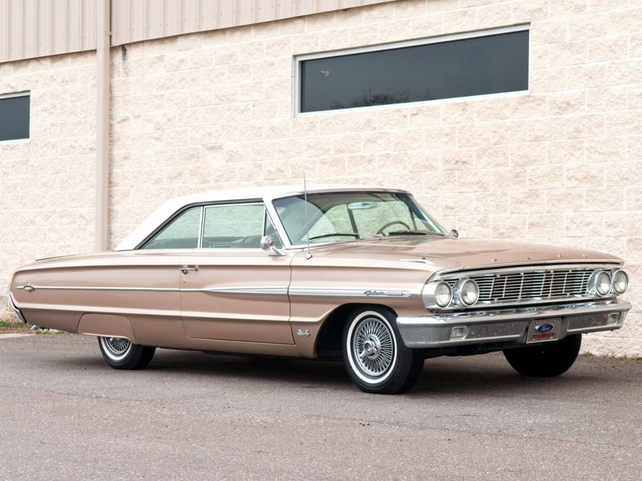 1964 Ford Galaxie 500 X-L Hardtop Coupe classic    f wallpaper