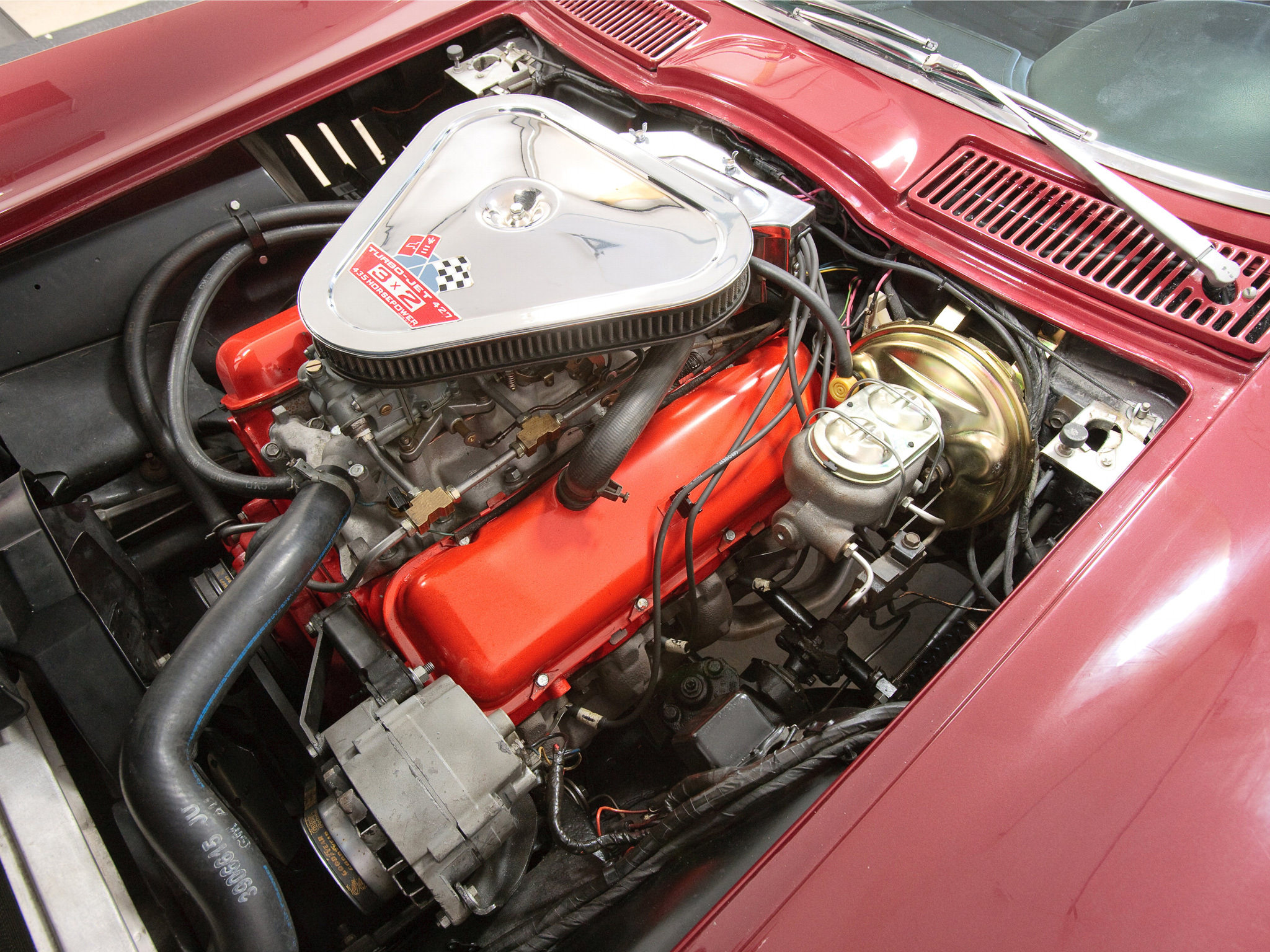 Chevy Muscle Cars >> 1967 Chevrolet Corvette Sting Ray L71 427 Convertible C-2 supercar muscle classic engine f ...