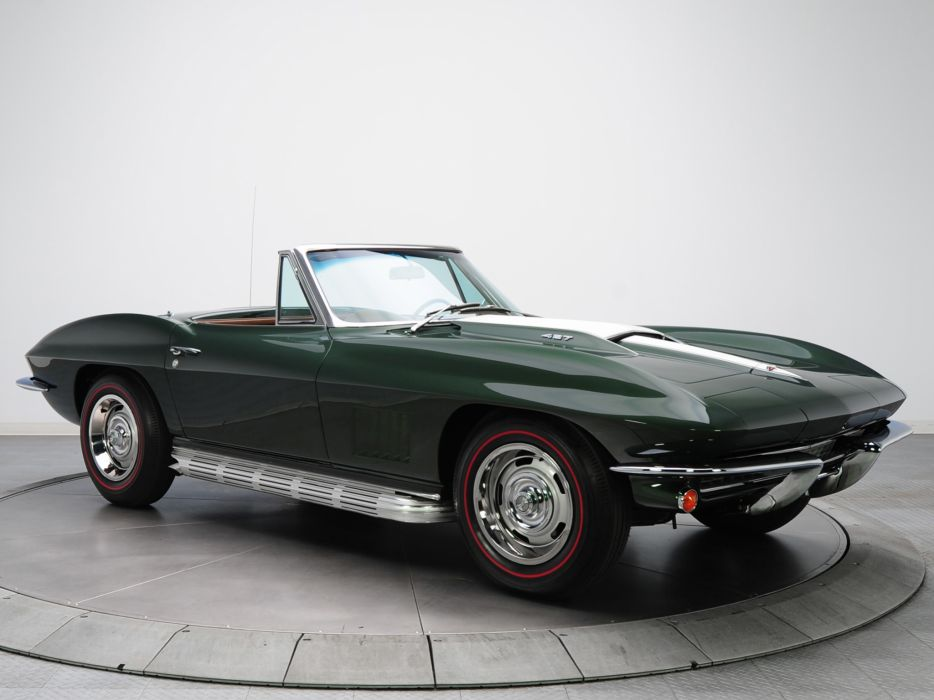 1967 Chevrolet Corvette Sting Ray L71 427 Convertible C-2 supercar muscle classic  s wallpaper