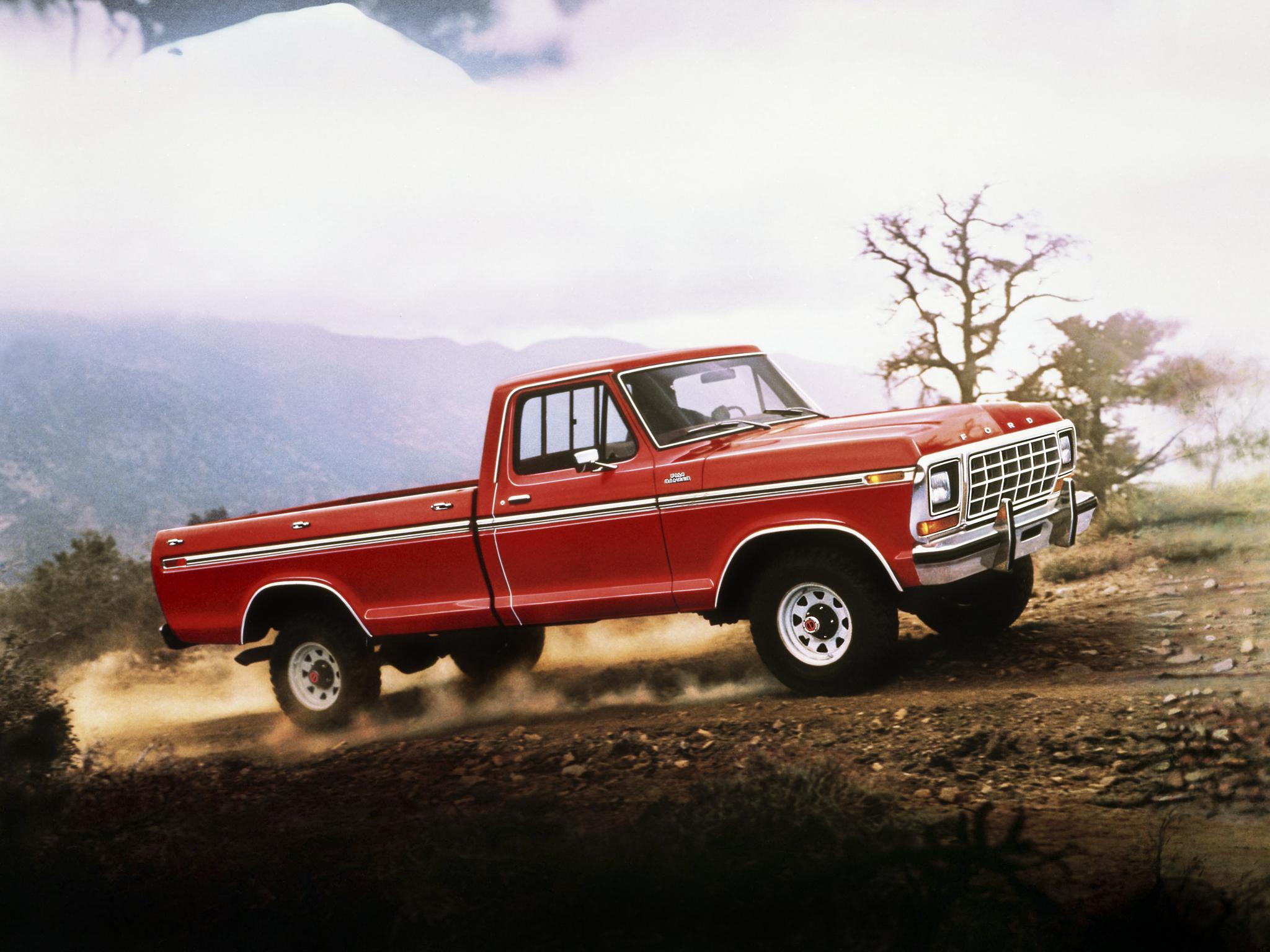 1979 Ford F 150 Ranger 4x4 Pickup Wallpaper