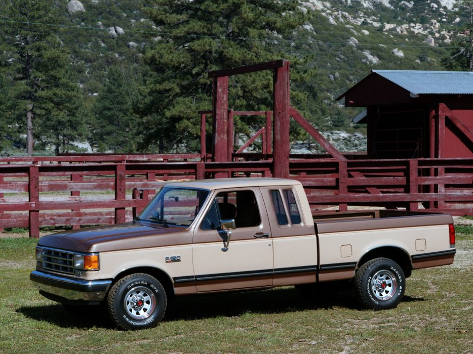 1987 Ford F-150 SuperCab pickup   g wallpaper