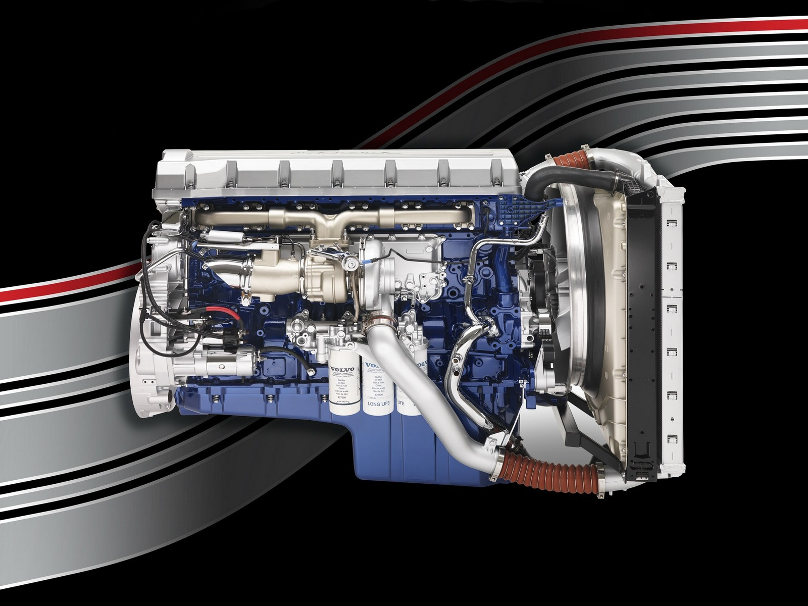 2011 Volvo FH16 750 8x4 tractor semi rig engine g wallpaper | 1600x1200 | 142669 | WallpaperUP