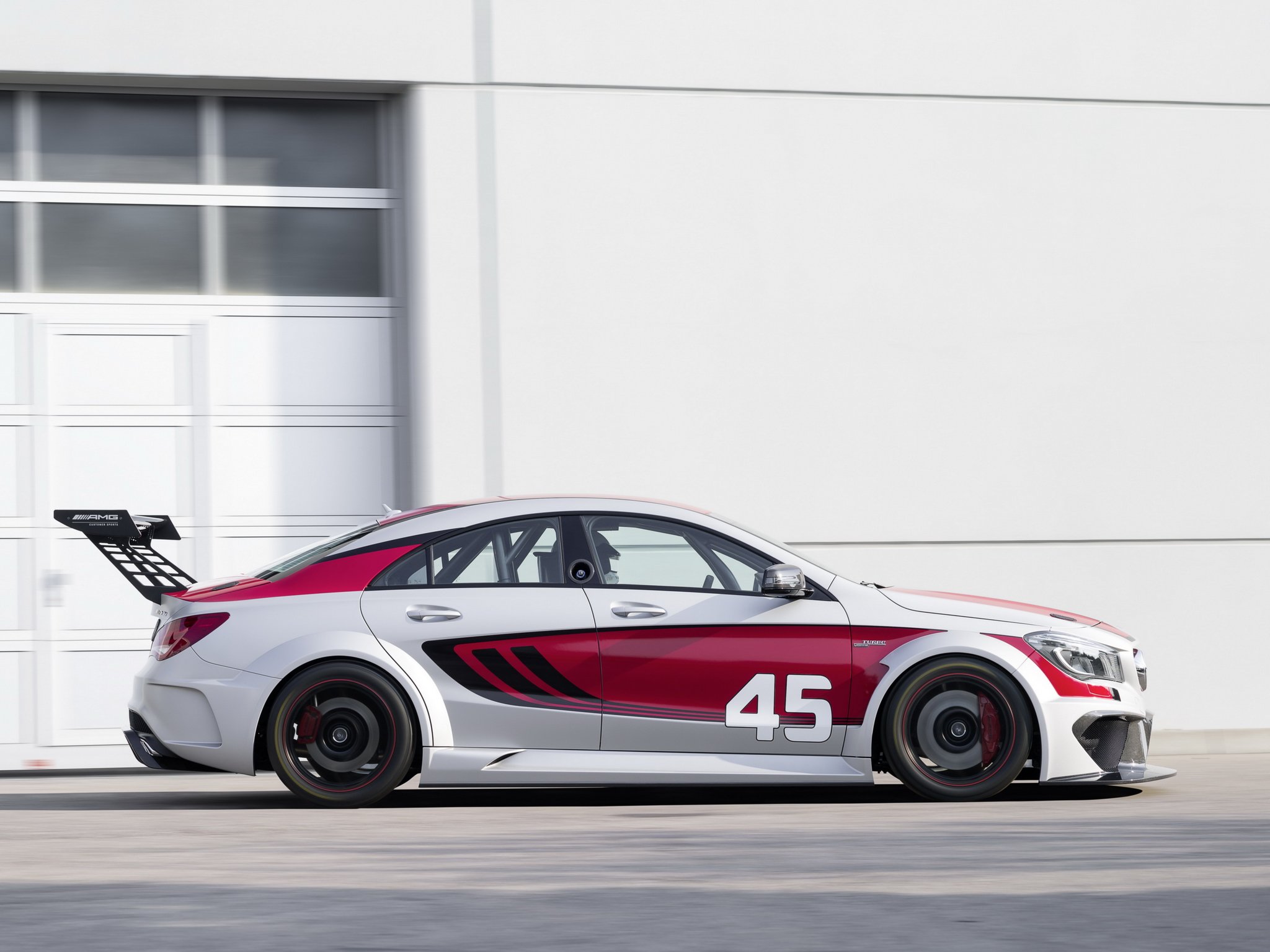 2013 mercedes benz cla 45 amg c117 concept race racing. Black Bedroom Furniture Sets. Home Design Ideas