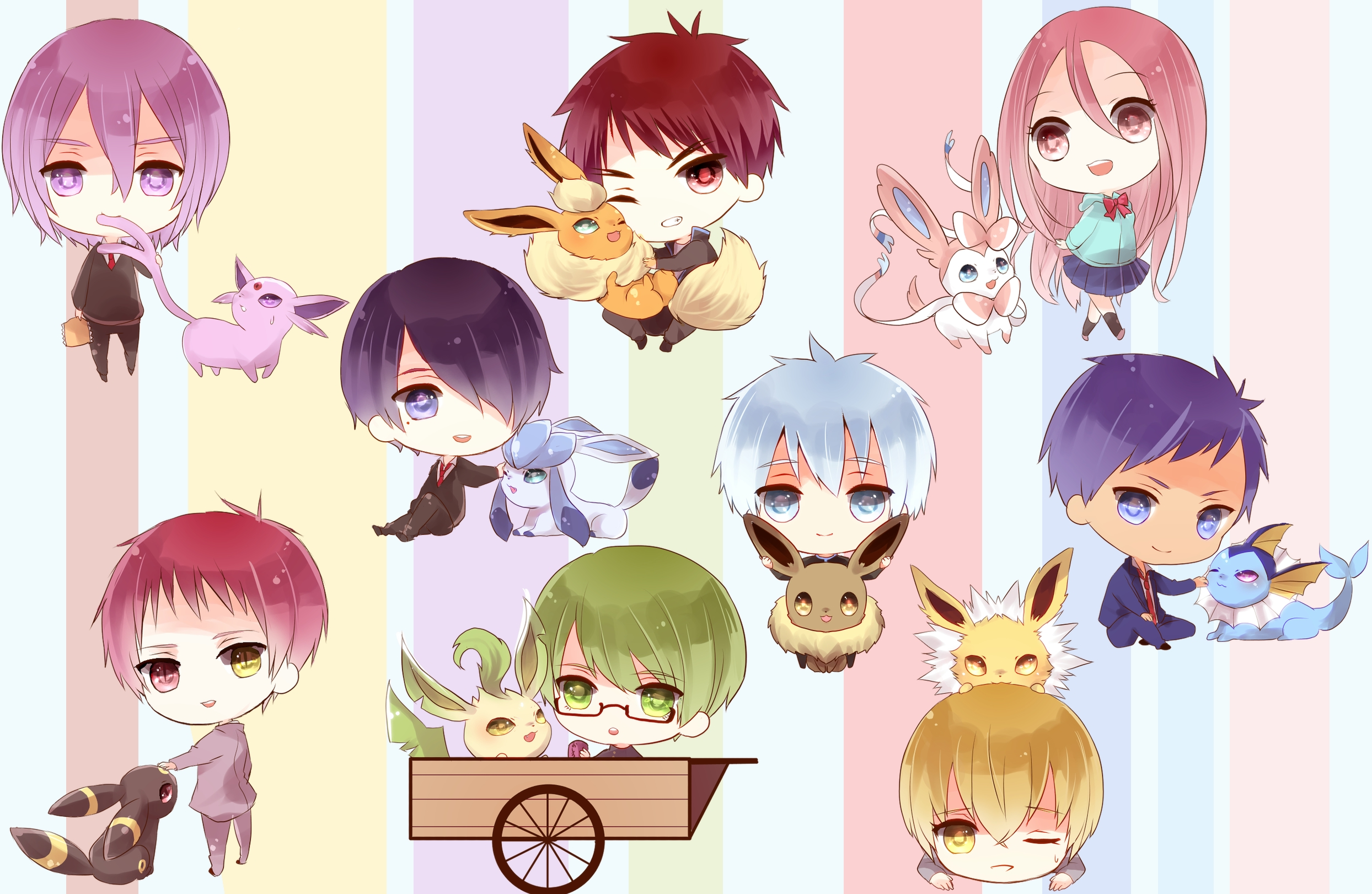 Kuroko no Basket pokemon wallpaper | 2488x1621 | 142836 | WallpaperUP