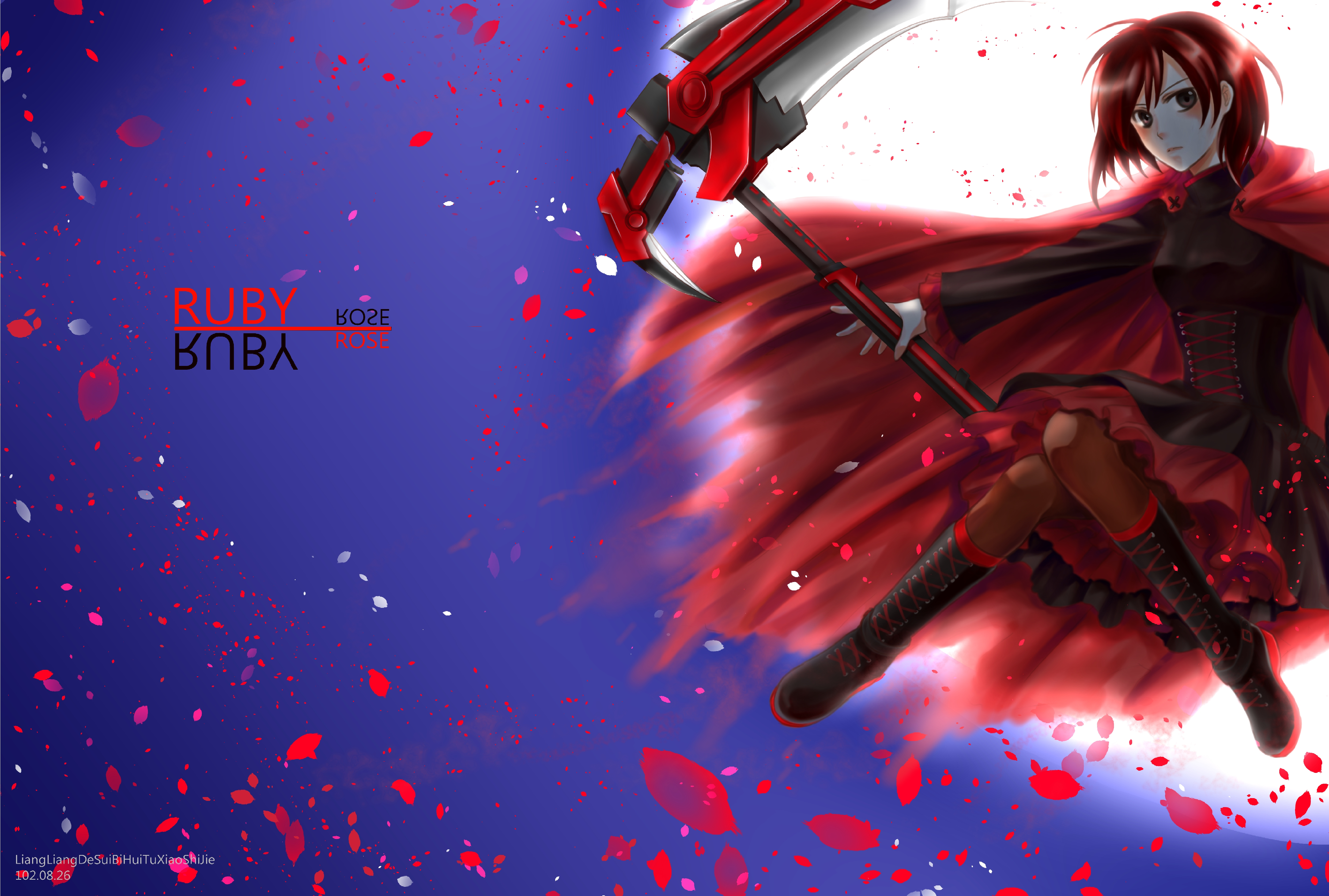 RWBY Ruby Rose hd wallpaper | 4888x3296 | 142934 | WallpaperUP