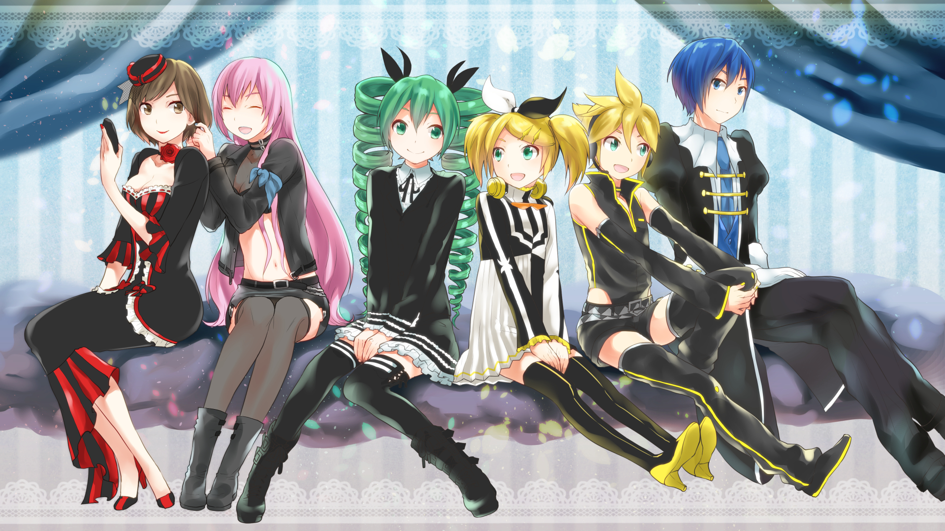Vocaloid project diva 2nd h wallpaper 1920x1080 143104 wallpaperup - Kagamine rin project diva ...