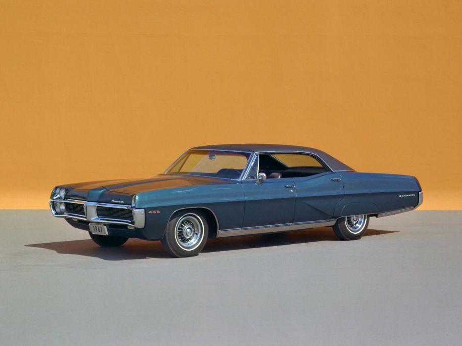 1967 Pontiac Bonneville Brougham Hardtop Sedan 26239 classic wallpaper
