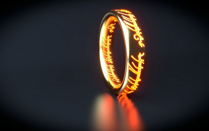 Ring Lord of the Rings wallpaper