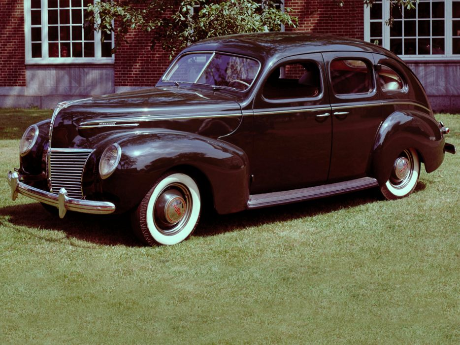 1939 Mercury Eight 4-door Sedan 99A retro wallpaper