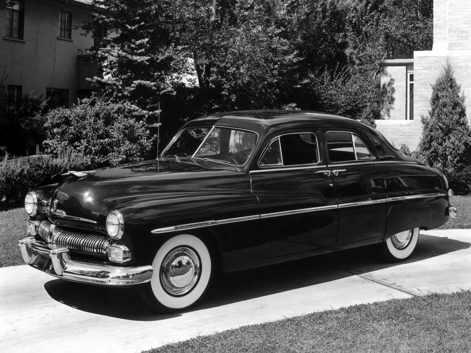 1950 Mercury Eight Sport Sedan M-74 retro wallpaper