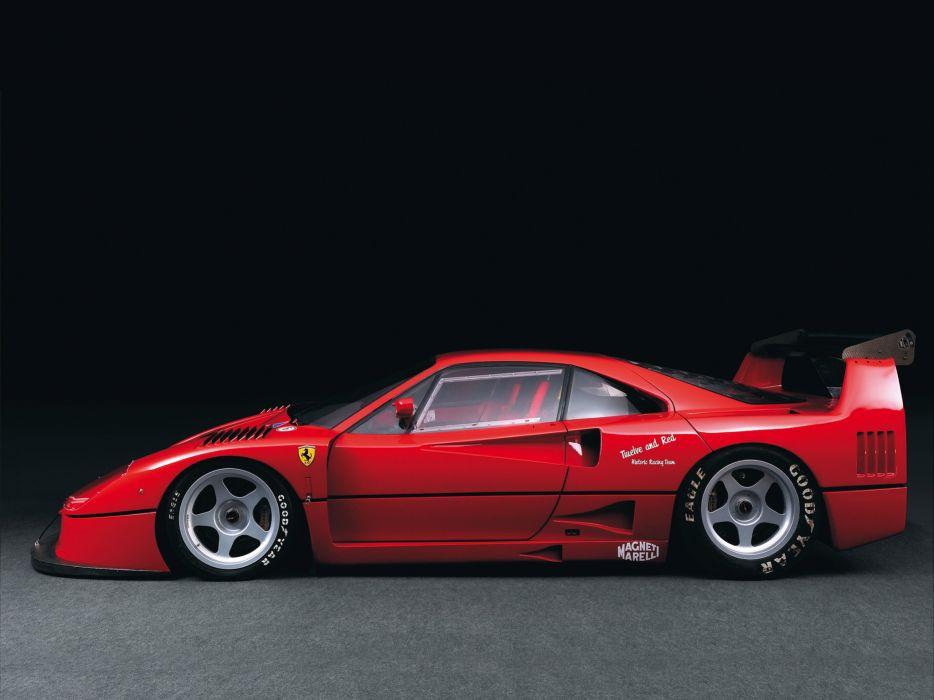 1988 Ferrari F40 classic supercar race racing    gh wallpaper