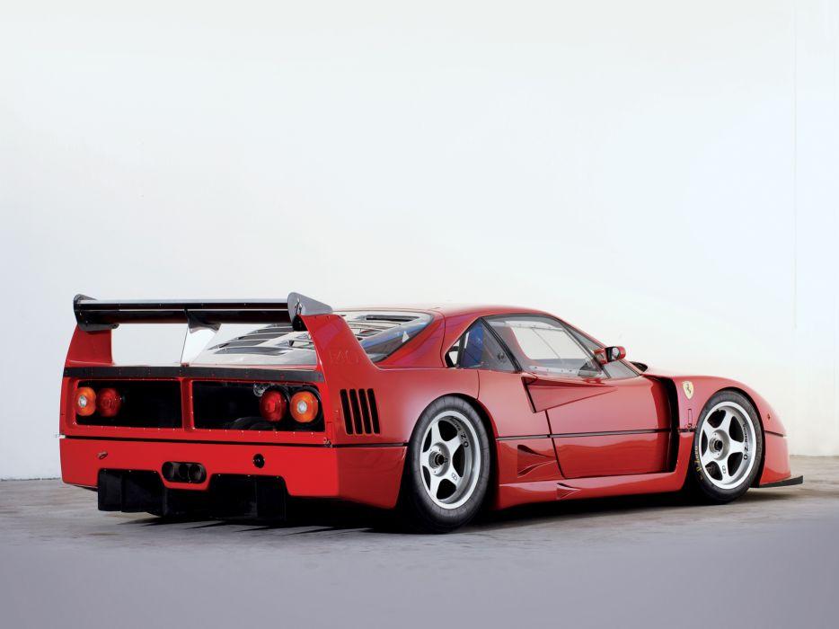 1988 Ferrari F40 classic supercar race racing g wallpaper