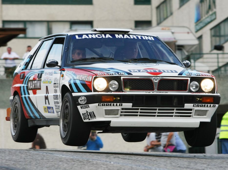 1989 Lancia Delta H-F Integrale 16v Group-A SE045 race racing     g wallpaper