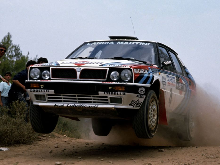 1989 Lancia Delta H-F Integrale 16v Group-A SE045 race racing wallpaper