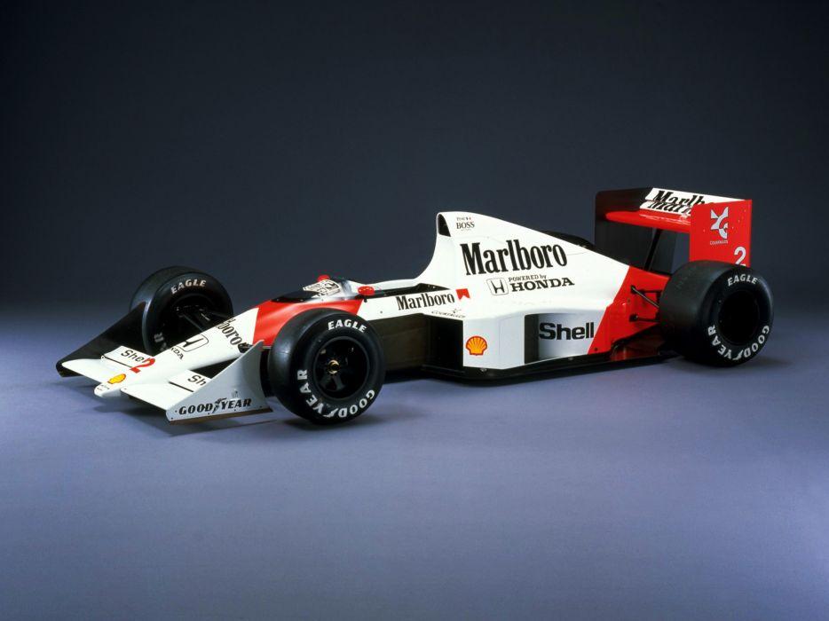 1989 McLaren Honda MP4-5 formula one f-1 race racing   g wallpaper
