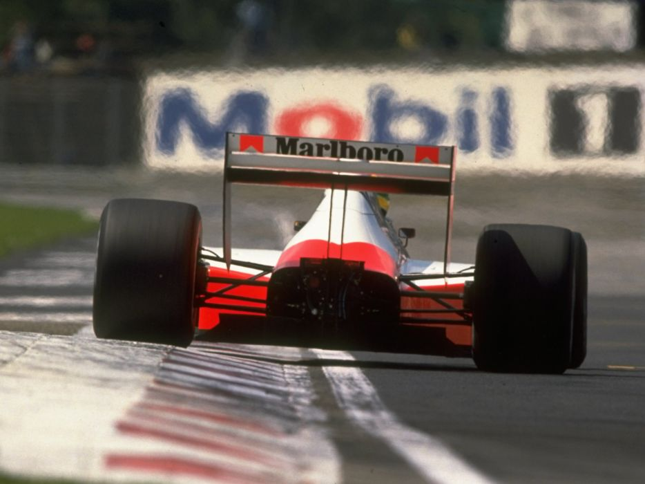 1989 McLaren Honda MP4-5 formula one f-1 race racing wheel       g wallpaper
