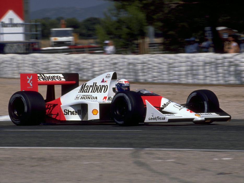 1989 McLaren Honda MP4-5 formula one f-1 race racing   gh wallpaper