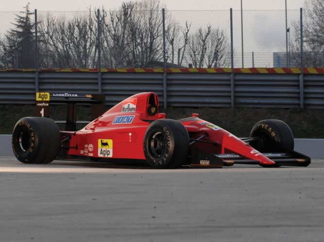 1990 Ferrari 641 formula one f-1 race racing g wallpaper