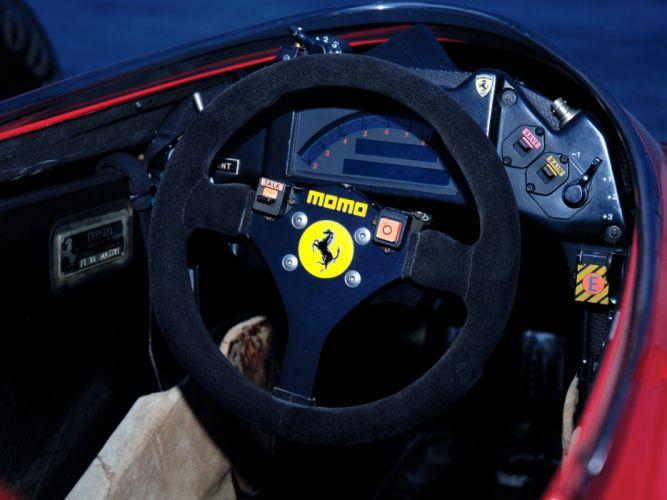 1990 Ferrari 641 formula one f-1 race racing interior f wallpaper