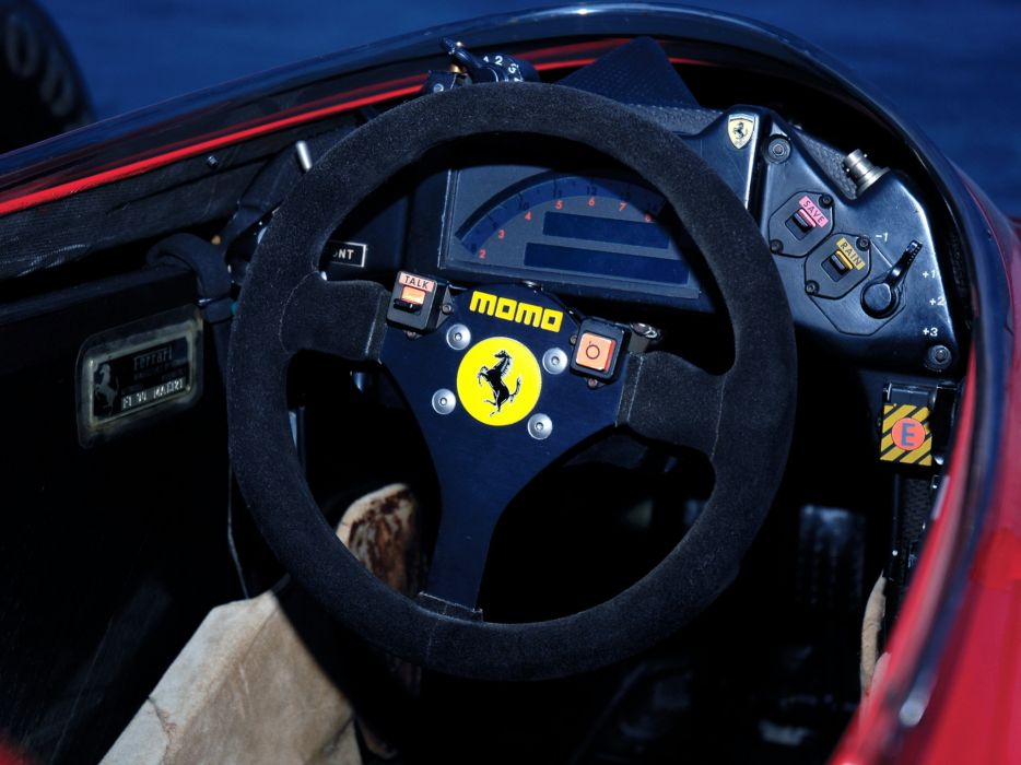 1990 Ferrari 641 formula one f-1 race racing interior         f wallpaper