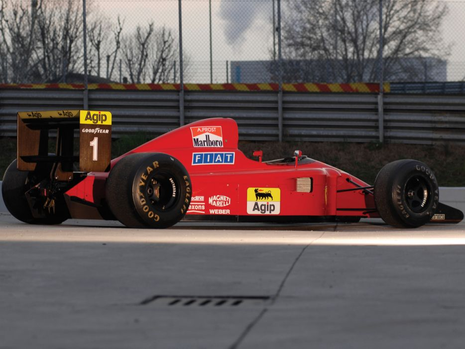 1990 Ferrari 641 formula one f-1 race racing  n wallpaper