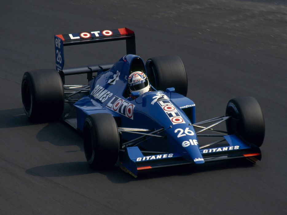 1990 Ligier JS33B formula one f-1 race racing b wallpaper
