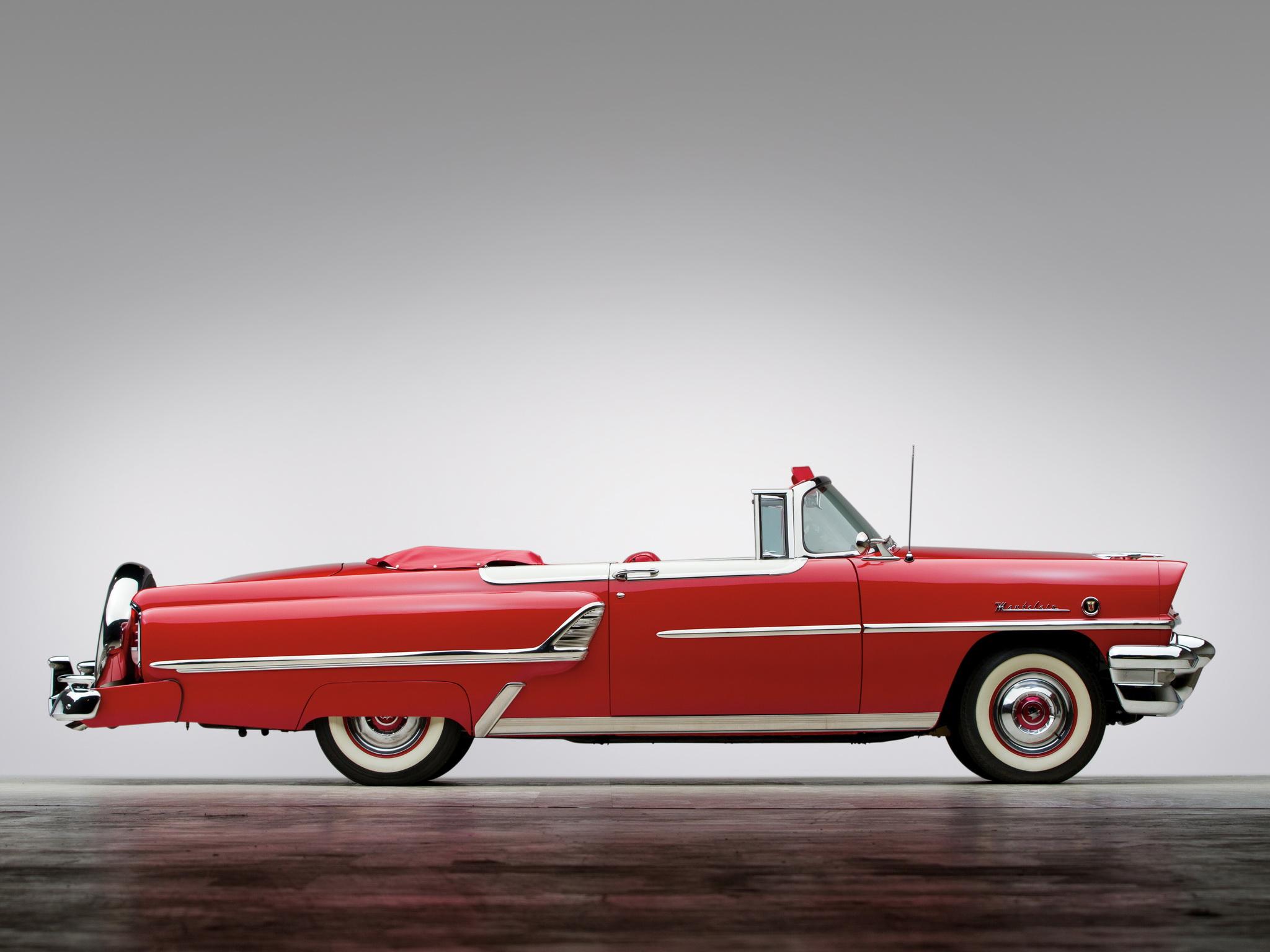 1954 Mercury Montclair Convertible 76B retro h wallpaper 2048x1536