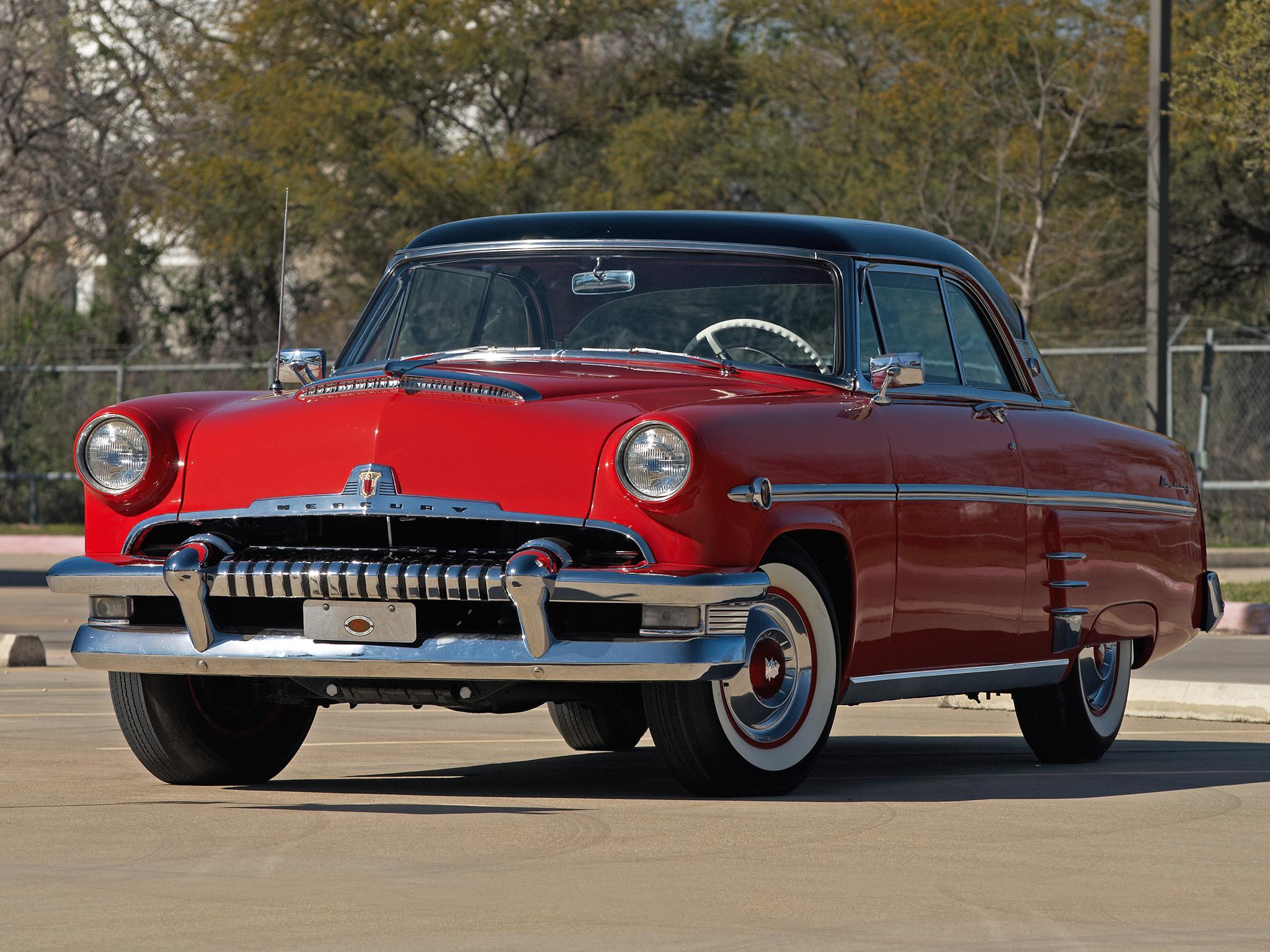 1954 Mercury Monterey Hardtop Coupe 60b Retro H Wallpaper
