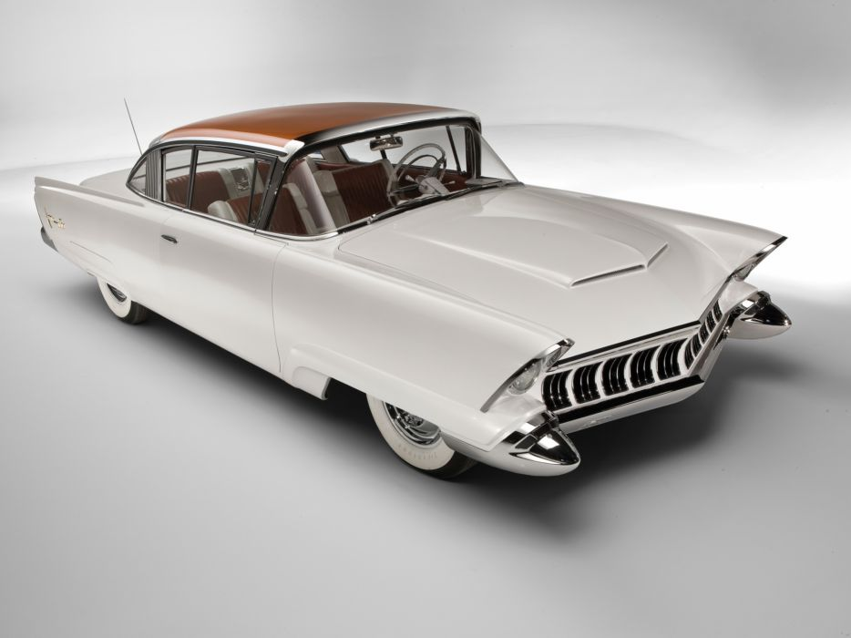 1954 Mercury Monterey XM-800 Concept retro custom wallpaper