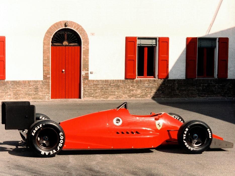 1986 Ferrari 637 formula one f-1 race racing d wallpaper
