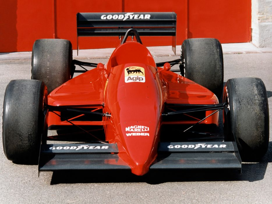 1986 Ferrari 637 formula one f-1 race racing wallpaper
