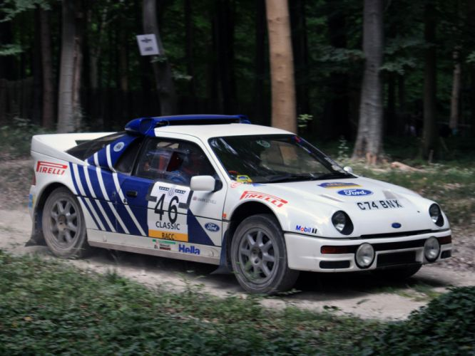 1986 Ford RS200 Group-B Rally UK-spec race racing wallpaper