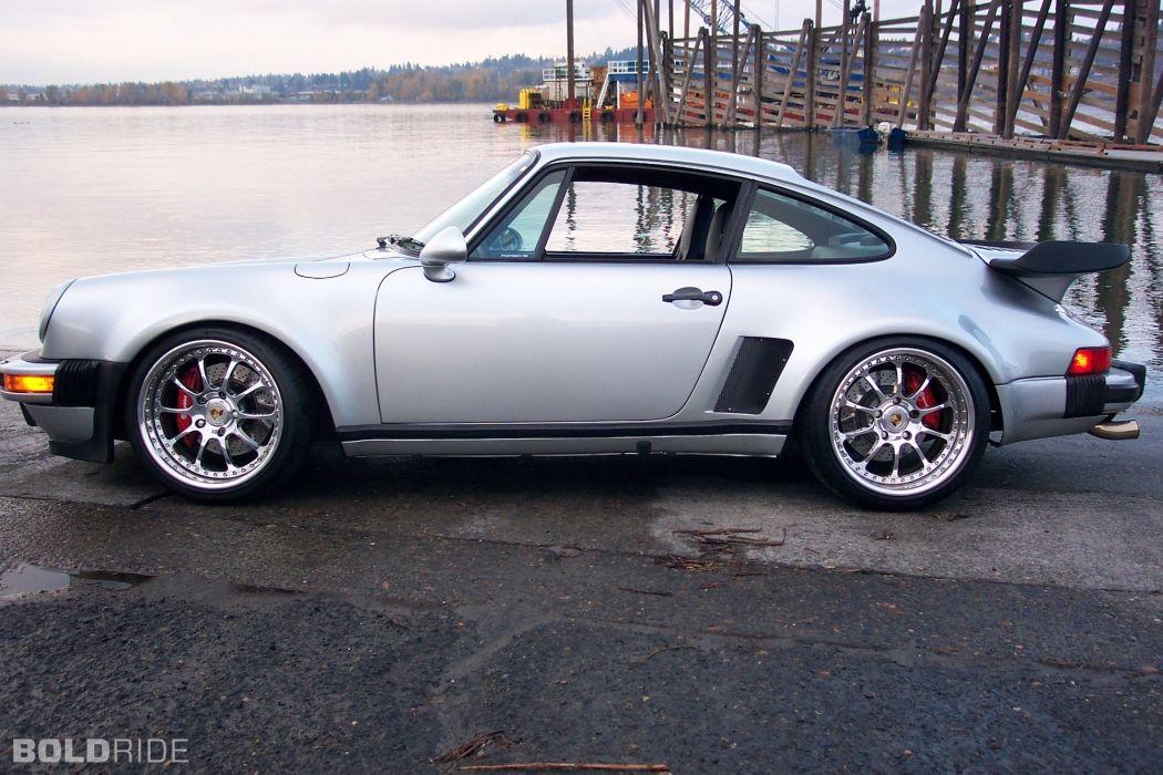 1986 Porsche 911 Turbo wheel tuning wallpaper