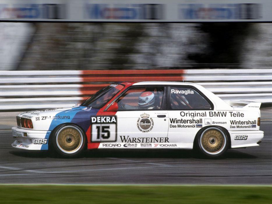 1987 BMW M-3 DTM E30 race racing  g wallpaper