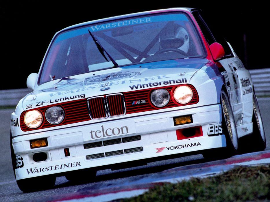 1987 BMW M-3 DTM E30 race racing wallpaper