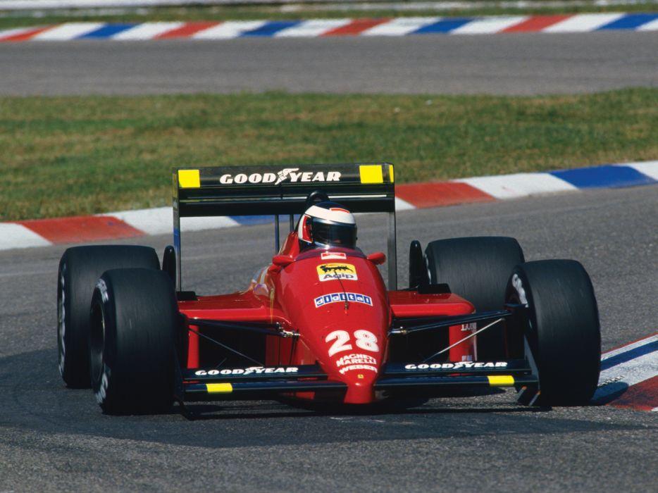 1987 Ferrari F187 formula one f-1 race racing    h wallpaper