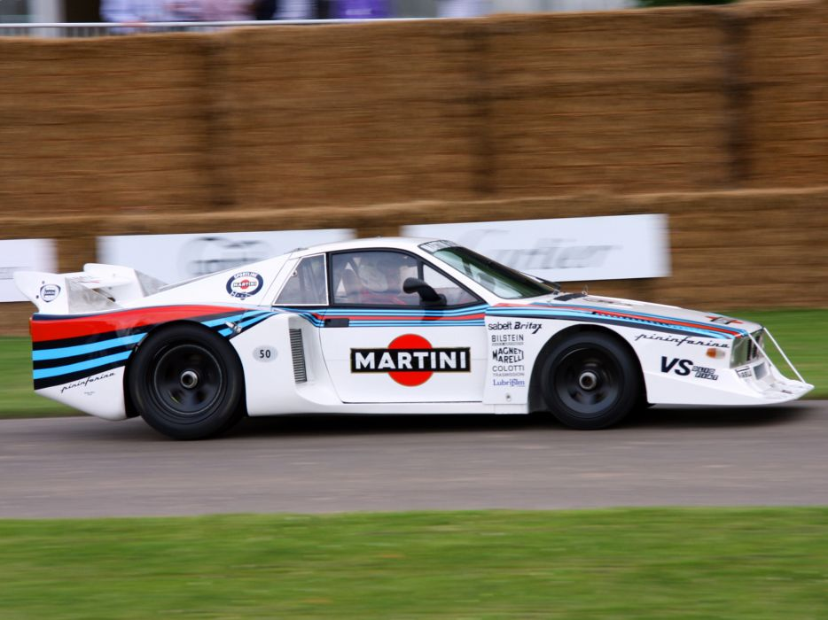 1978 Lancia Montecarlo Turbo Group-5 le-mans race racing g ...