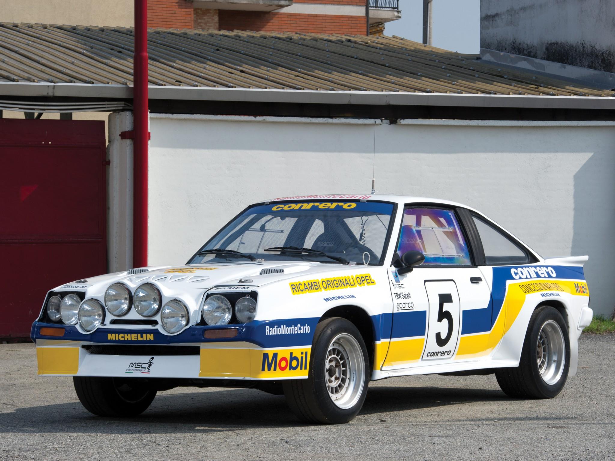 1981 Opel Manta 400 Group B Rally Race Racing H Wallpaper 2048x1536 143758 Wallpaperup